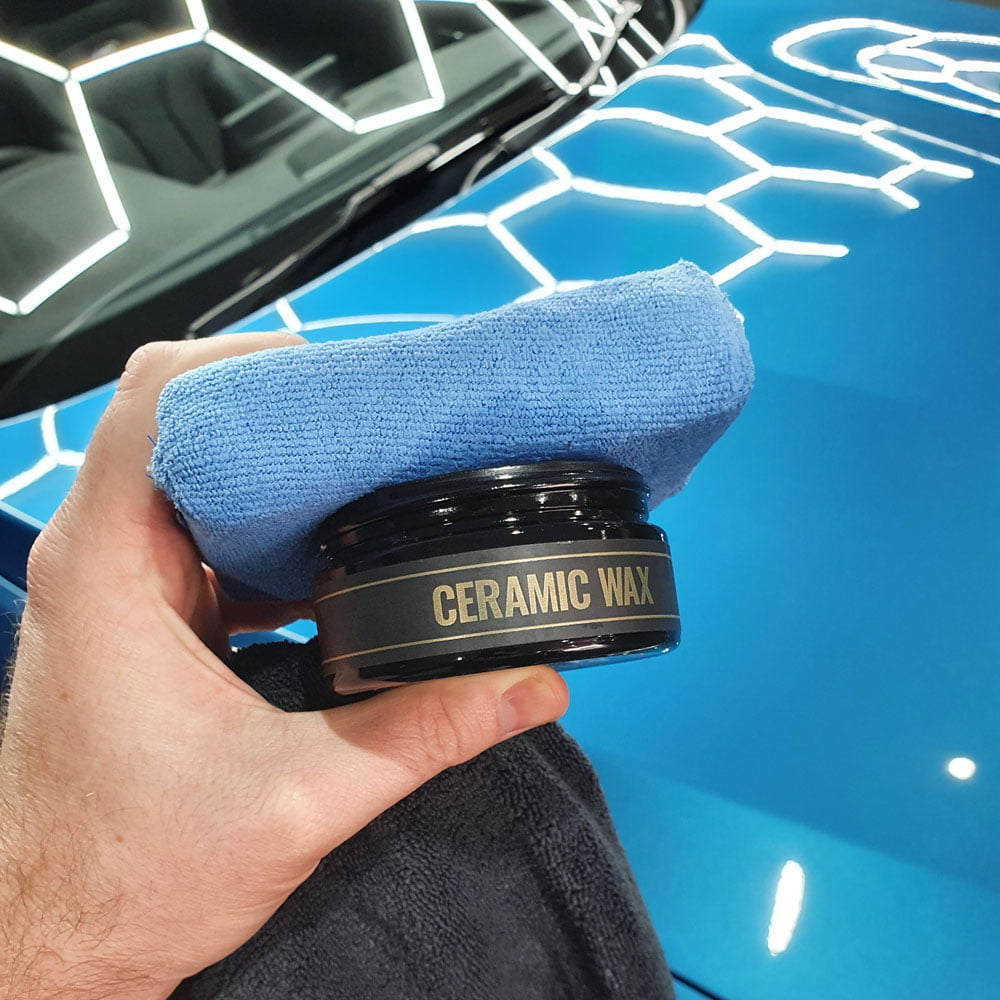 What is car detailing - ceramic wax